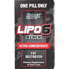 Lipo 6 Black Ultra Contcentrate 60caps / Rasvapõletaja